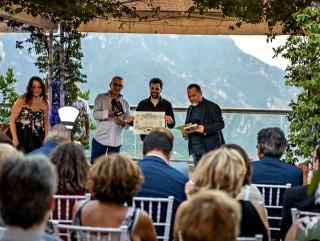Davide Cuorvo premiato alla Pabula Amoris di Ravello