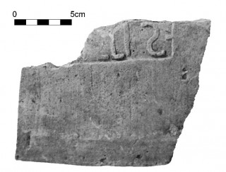 Fig. 3 - Marchio n. 2 (Fotografia: A. Pugliese.)
