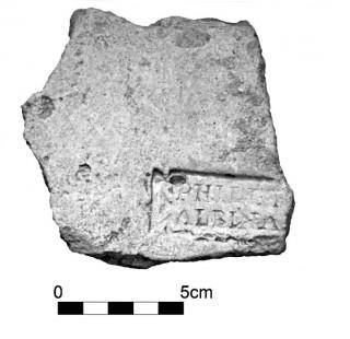 Fig. 2 - Marchio n. 1 (Fotografia: A. Pugliese.)