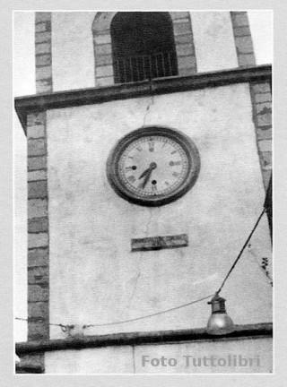 L'ora in cui avvenne il terremoto del 1980