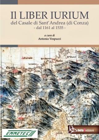 La copertina del Liber iurium di Sant'Andrea di Conza