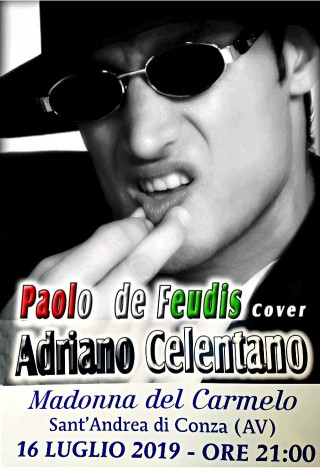 Paolo de Feudis (cover Adriano Celentano)
