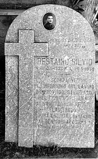 Lapide di Silvio Restaino