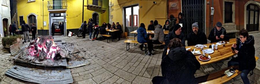 Panoramica della Piazza Umberto I